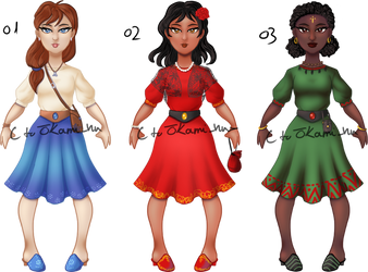 OPEN outfit/character adopt
