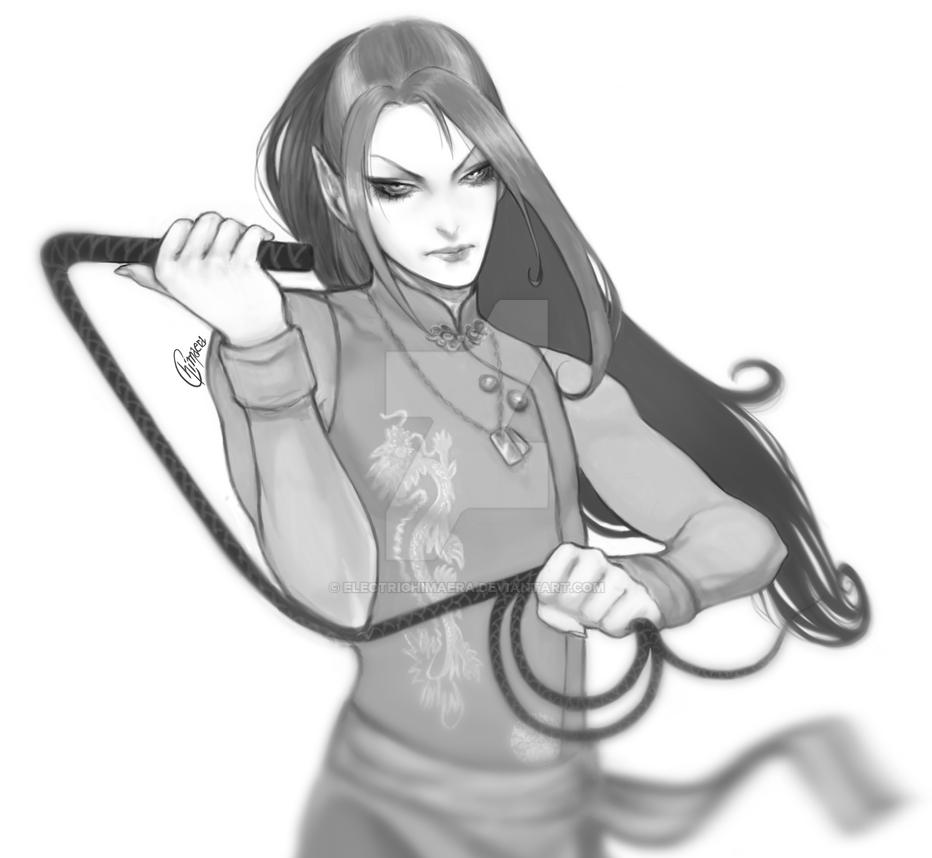 [Comission] Suka by ElectriChimaera