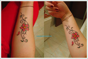 Cherry Blossom_Tattoo by Miss-Kinomoto