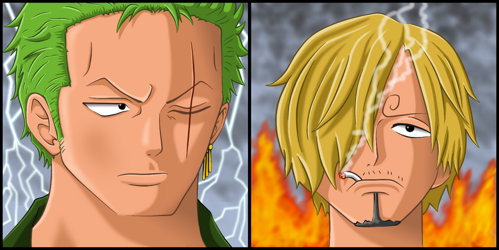 Zoro Sanji Qualifying 2 CCT by PBlChopperMan