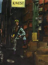 Ziggy Stardust by Kayiae