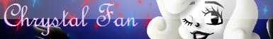 Chrystal fan button by Orez-Suke