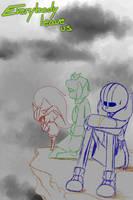 Sketch - Everybody leave us by Orez-Suke