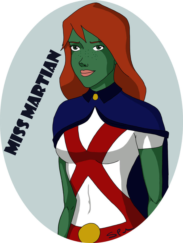 Young Justice - Miss Martian by SquarePegSaz