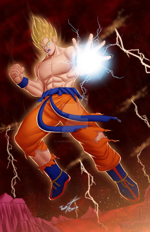 Goku by JavierCruzArt