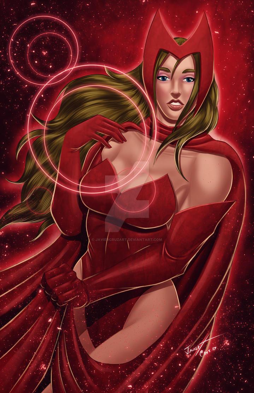 Scarlet Witch by JavierCruzArt