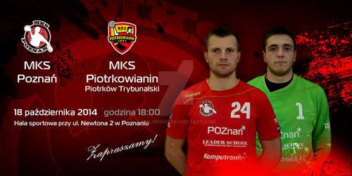 Promo material - invitation MKS Poznan match