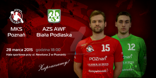 Promo material - invitation MKS Poznan match 5