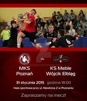 Promo material - invitation MKS Poznan match 3