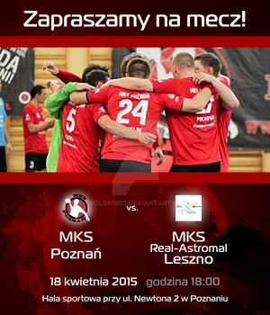 Promo material - invitation MKS Poznan match 6