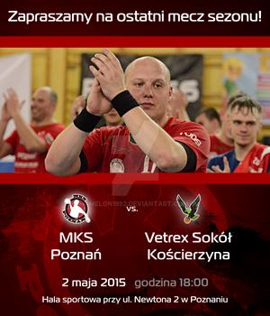 Promo material - invitation MKS Poznan match 7