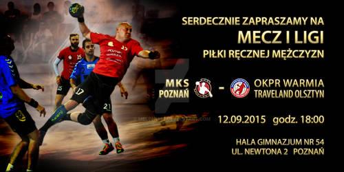 Invitation to MKS Poznan match on new season 15/16