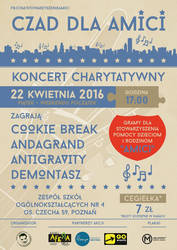Czad dla AMICI 2016 - official poster