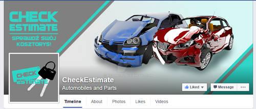 CheckEstimate FACEBOOK cover and profile photo