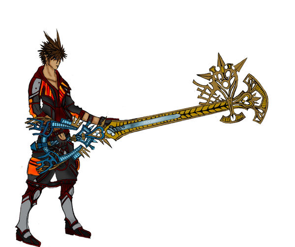 Excalibur Keyblade Sora_The_Keyblade_Master_by_Free_Squall