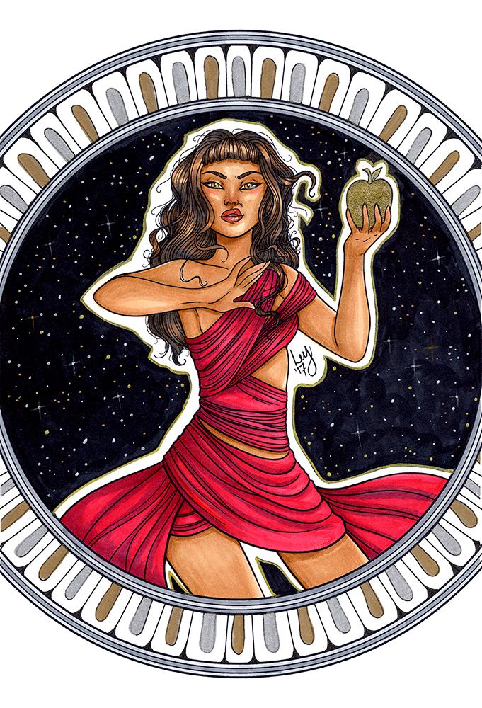 Eris - Goddess of Discord by leys