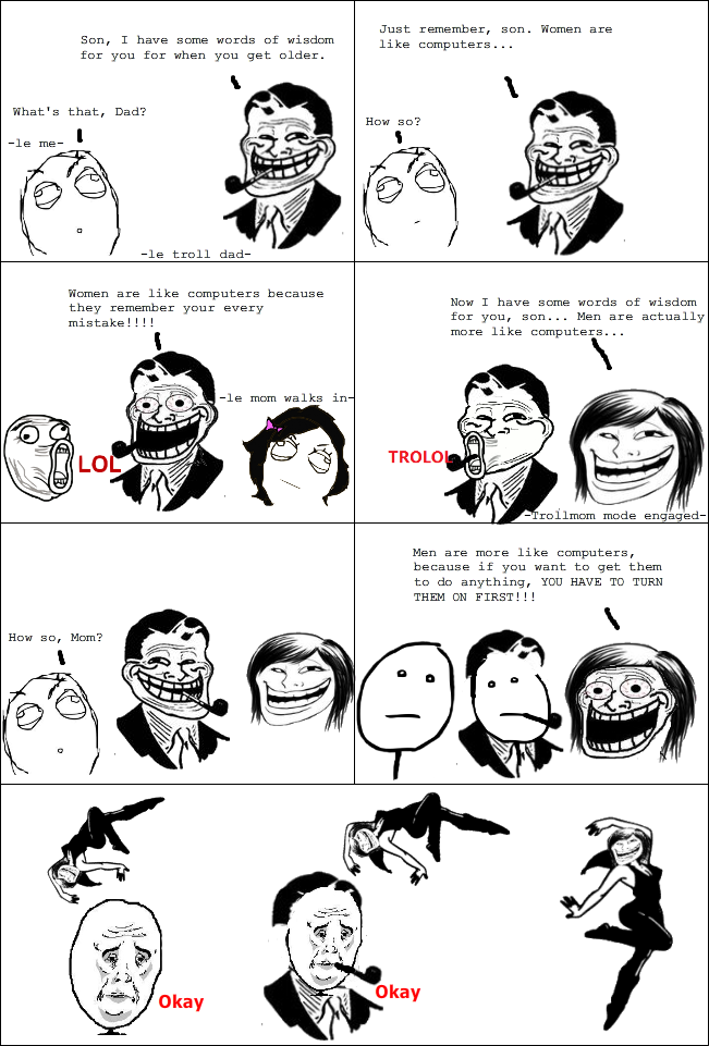 Trollface Comic! Comment please! :) by fabbelabbe8 on ...