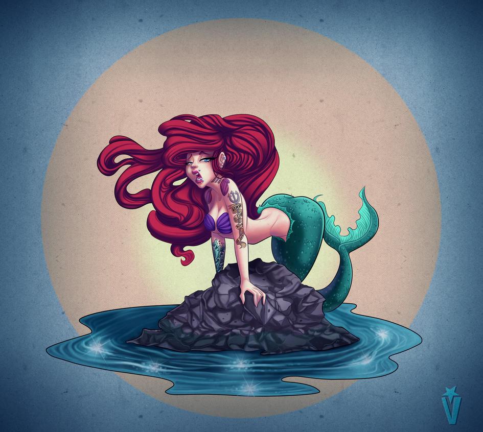 Suicide Mermaid by Victoria-Star