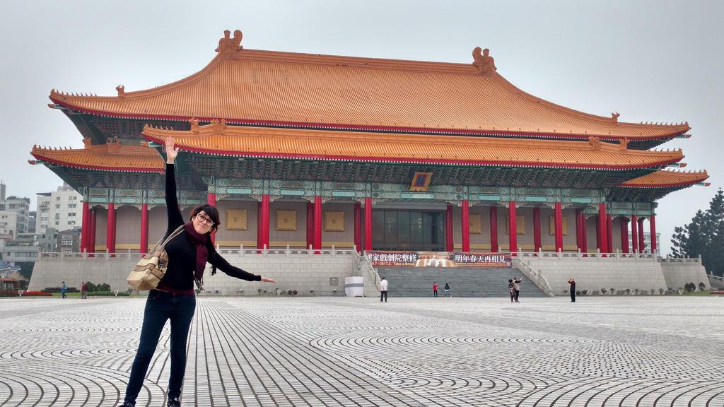 Me at Chiang kai shek memorial (Taiwan) by Victoria-Star