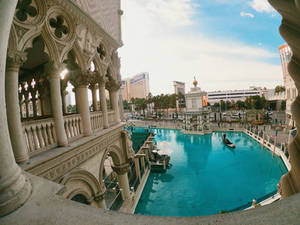 view from the Venetian