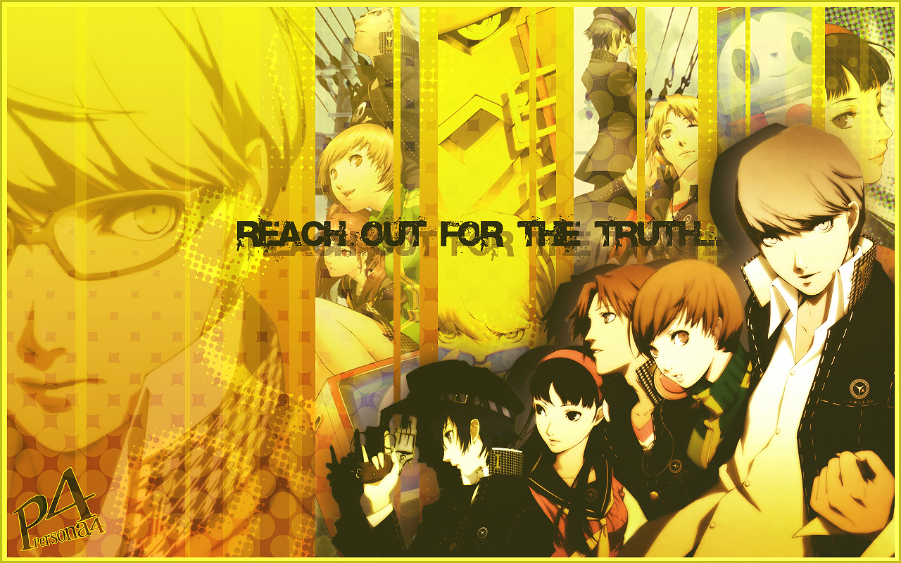 Persona 4 Psp Persona 4 Wallpaper by en