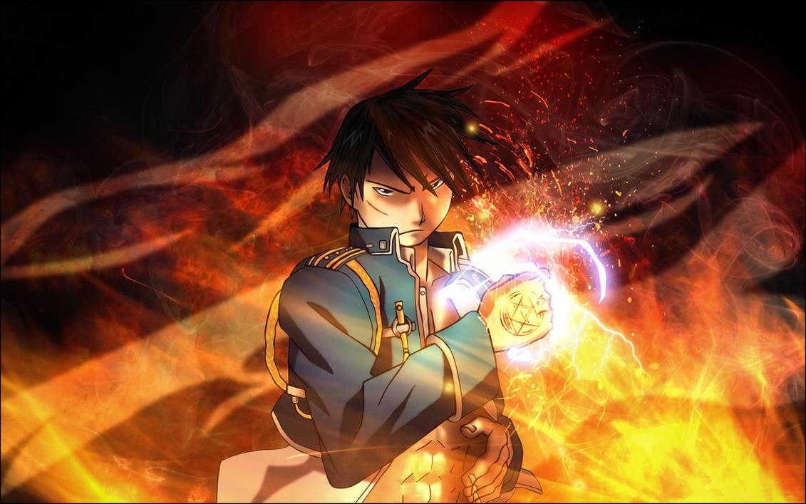 The Flame Alchemist by En-Taiho on DeviantArt Anime Fight Scene Background