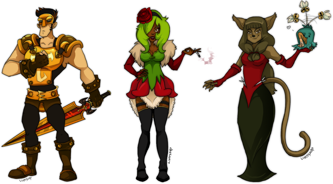 Wakfu Characters By Kurokitty On DeviantArt