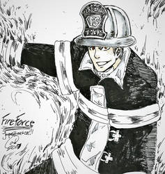 Fire Force James  by Mango-Gurl