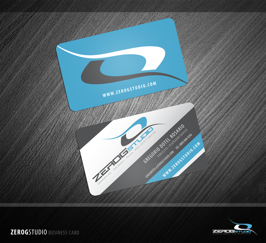 ZeroGStudio Business Card by ZeroGG on DeviantArt