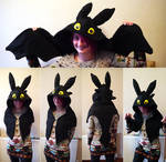 Toothless how to train your dragon hood