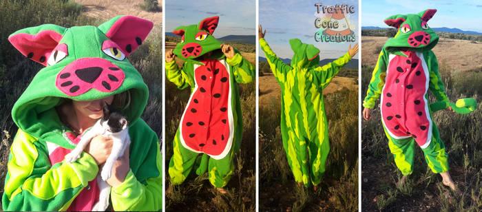 Watermelon Kitty Kigu