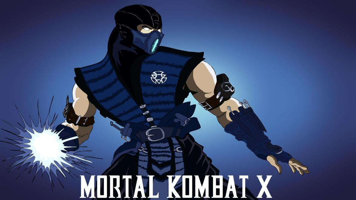 Mortal Kombat X Sub Zero Deviantart Sub Zero MK X by tekkenrocker