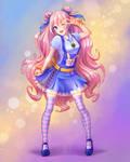 Anime-chan by KitsuNeka-san