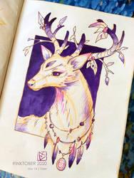 INKTOBER 2020   14 - Deer