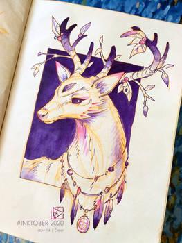 INKTOBER 2020 | 14 - Deer