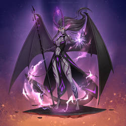 [comm ych] Demonic Yami