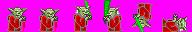Super Mario War: Yoda Skin by Skapokon