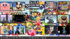 Skapokon's Smash Bros Controversy Meme by Skapokon