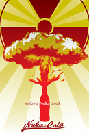 Nuka-cola Ad by crimsonprinny