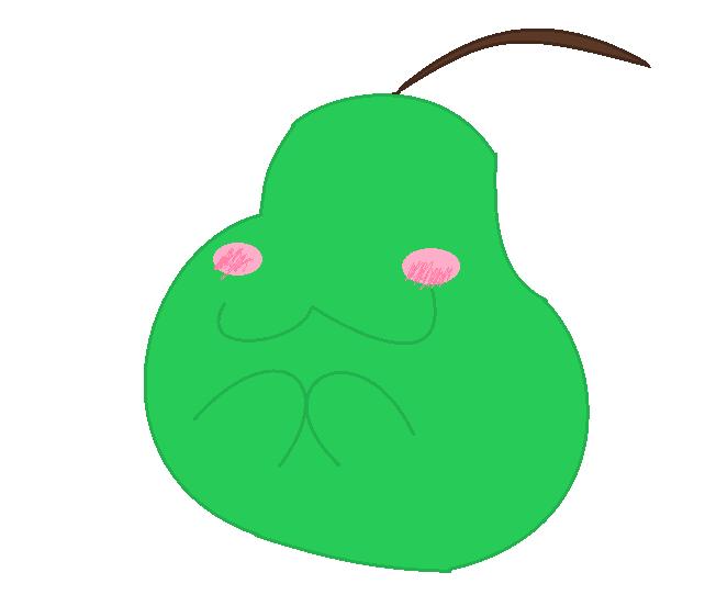 Pear Boi by fluffycatjeff