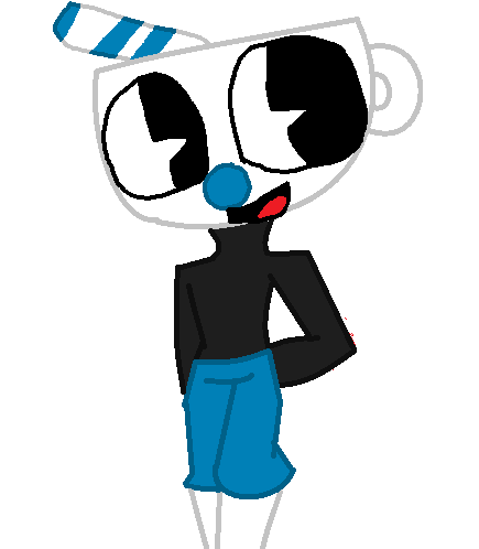 Mugman Doodle by fluffycatjeff