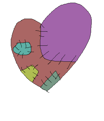 Patchy Heart by fluffycatjeff