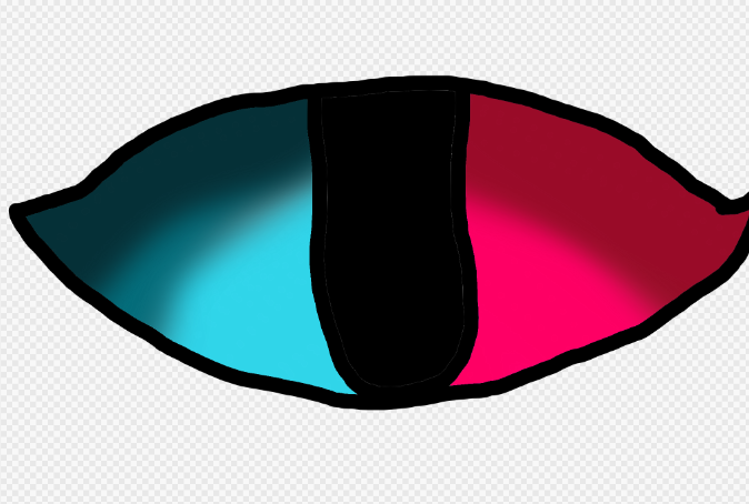 Eye Two Colors by fluffycatjeff
