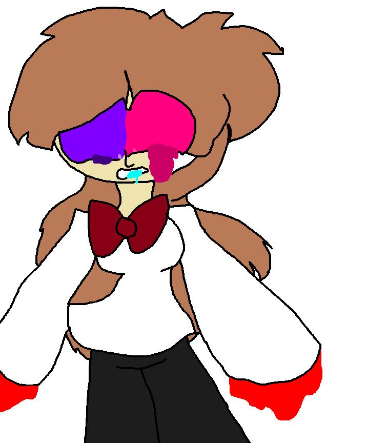 Neon Blood Redraw by fluffycatjeff