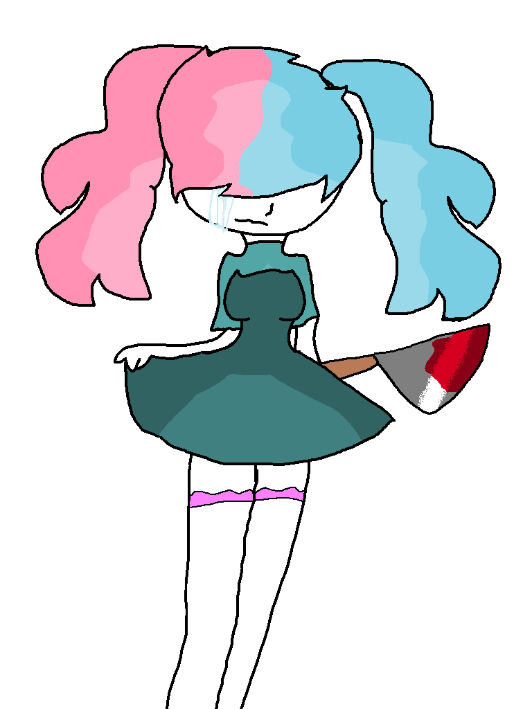 Melanie Martinez Inspired Oc by fluffycatjeff