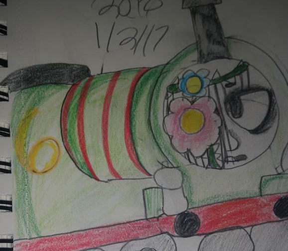 OwO Percy Is Being Edgy by fluffycatjeff