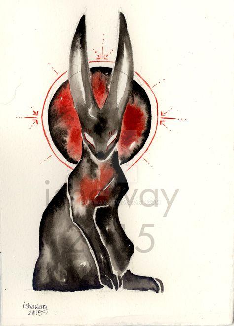 Inktober day 30 - Samhain by Ishaway
