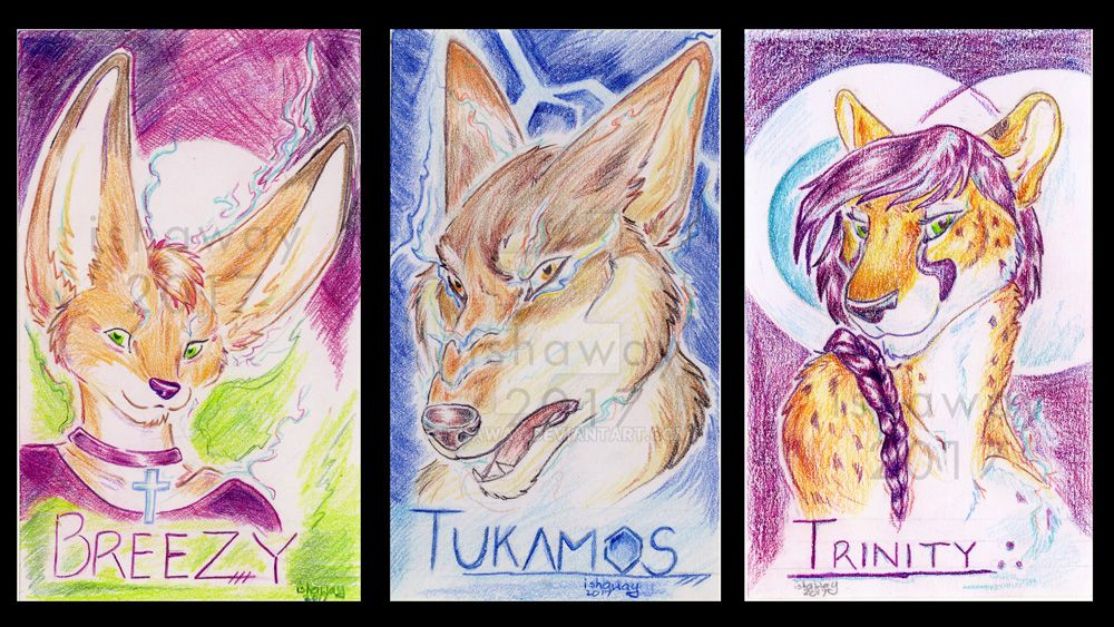 Colorful badges June by Ishaway