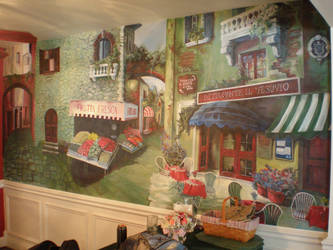 finished tuscan mural by JohnnyStafford