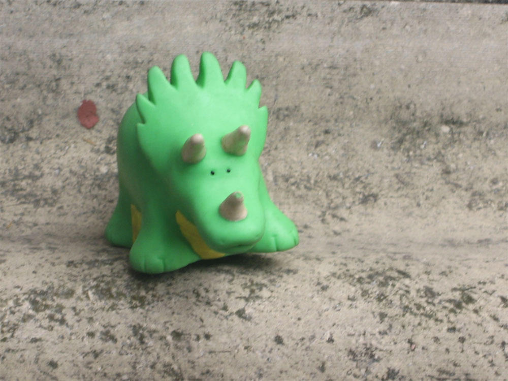 Little dinosaur by juliatov